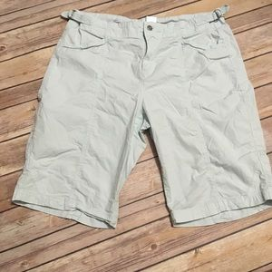 Fresh Produce Light Blue Bermuda Shorts
